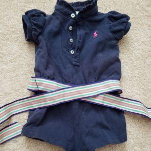 Ralph Lauren baby girl romper bodysuit 3M
